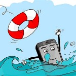Làm gì để cứu một chiếc điện thoại bị rớt vào nước?