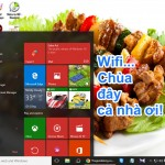 Hướng dẫn dùng laptop Windows 10 làm điểm phát Wifi